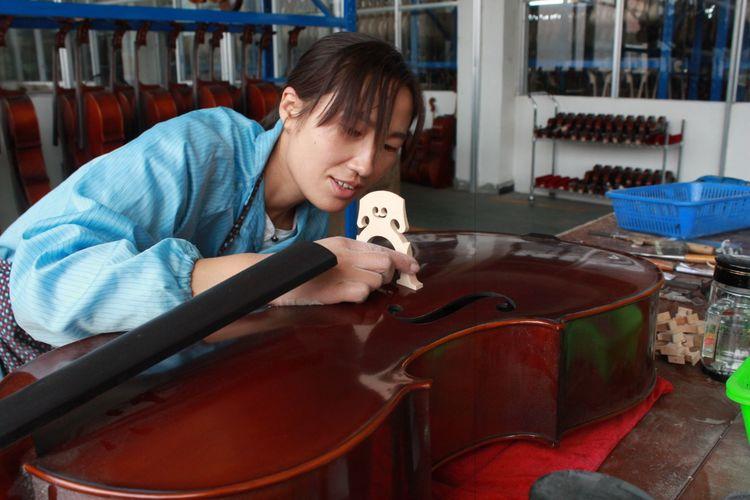 小提琴装配