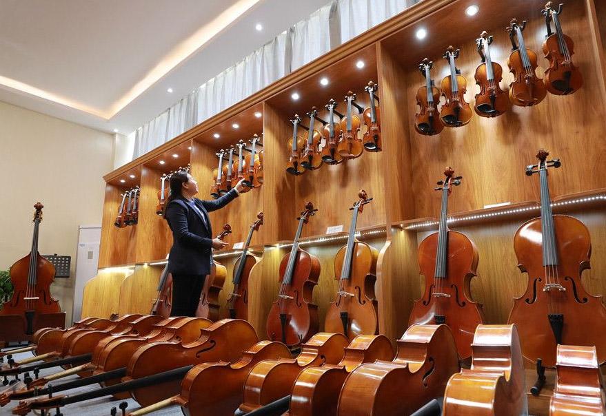 小提琴展厅