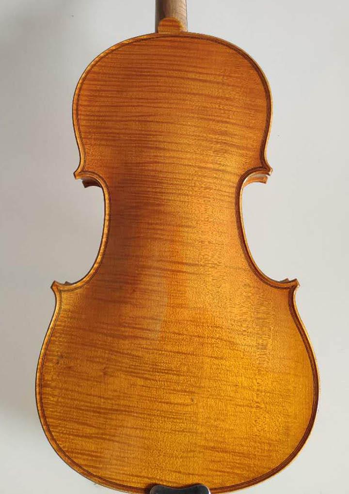 川料独板虎纹枫4/4小提琴