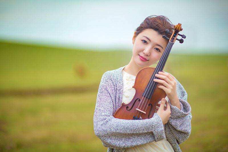谷丽莎,一位很有仙气的女小提琴演奏家