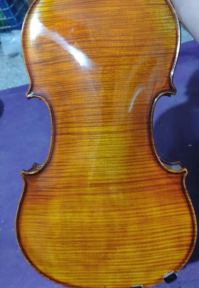 独板纯手工欧料小提琴-zd07