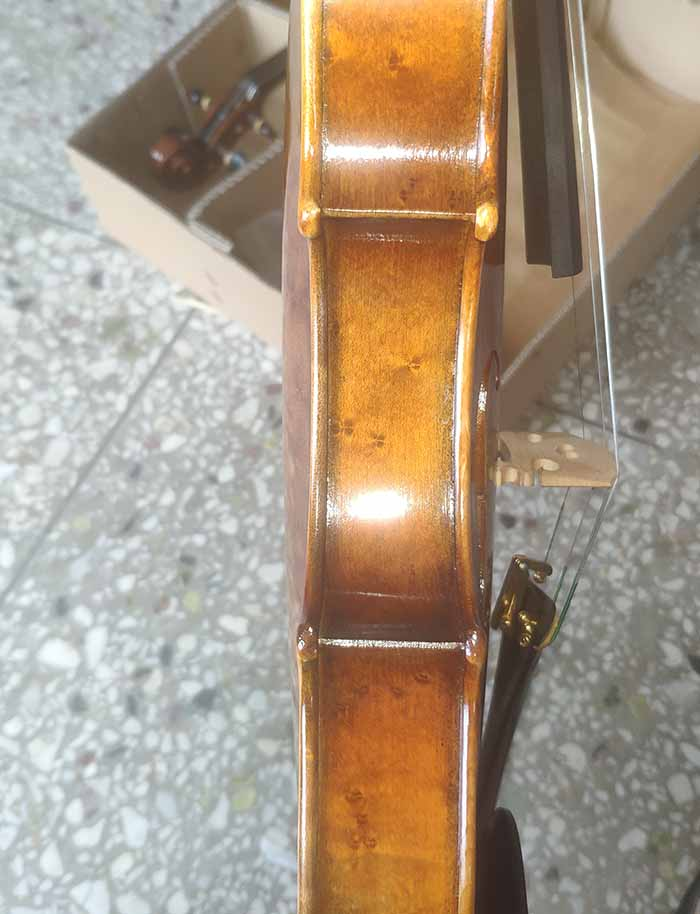 雀眼枫纯手工小提琴-zy10