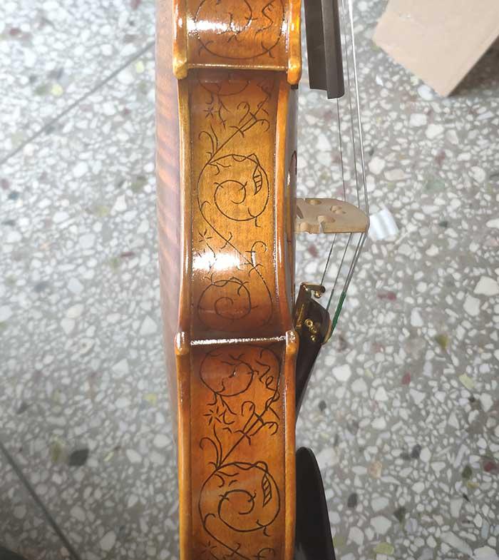 雕花镶嵌演奏级小提琴-zy09