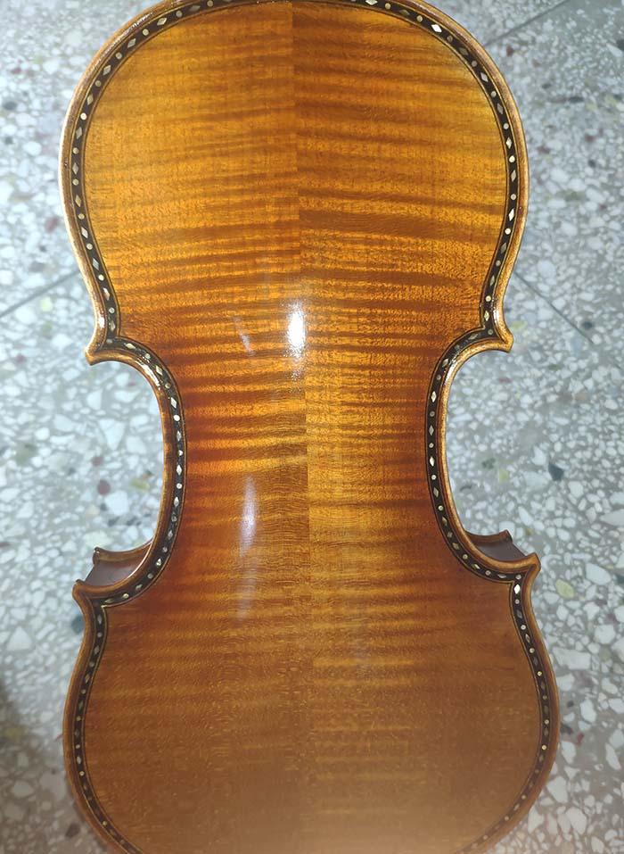 雕花镶嵌欧料小提琴-zy08