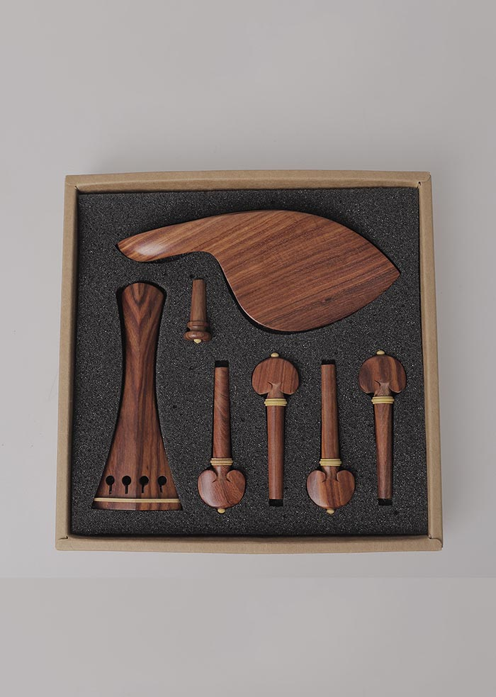 高档小提琴4/4红木配件