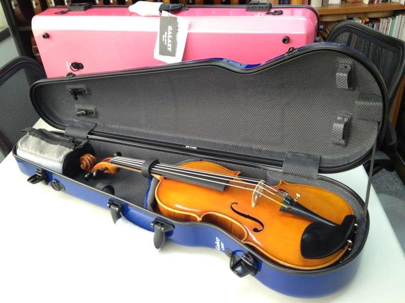 高档进口碳纤小提琴盒