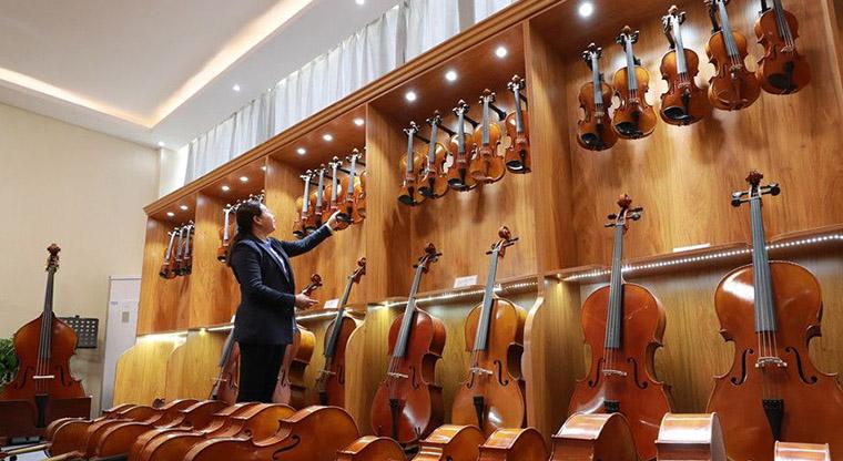 纯手工小提琴专卖店-联系:133-9373-7784