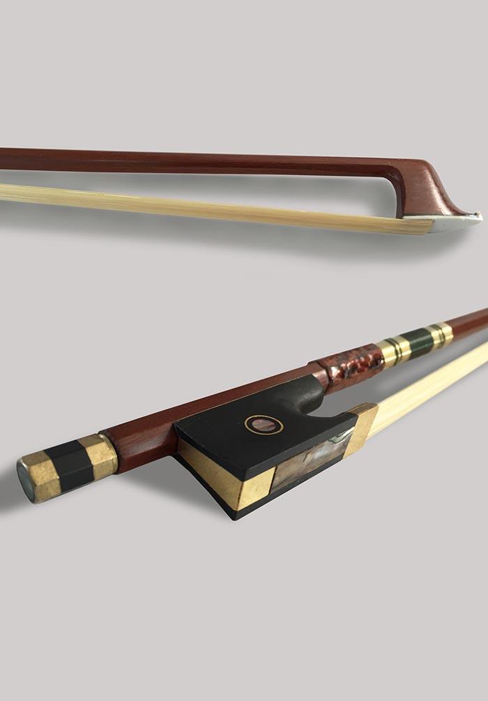 小提琴高档乌木库包角琴弓