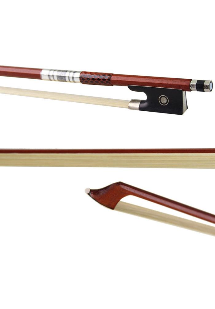 红檀木演奏级小提琴弓