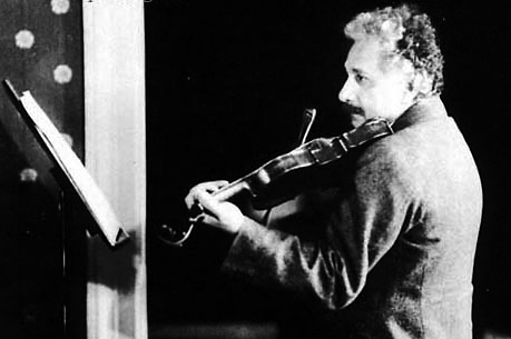 爱因斯坦和小提琴