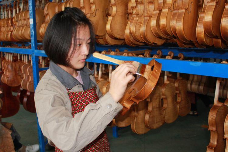 手工小提琴生产