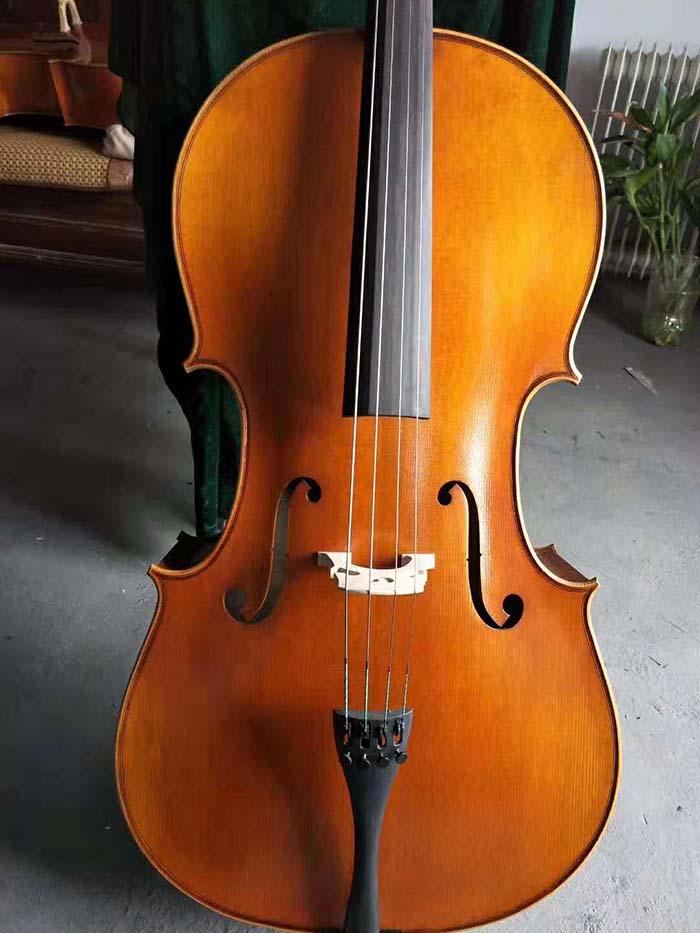 欧料油性漆纯手工大提琴