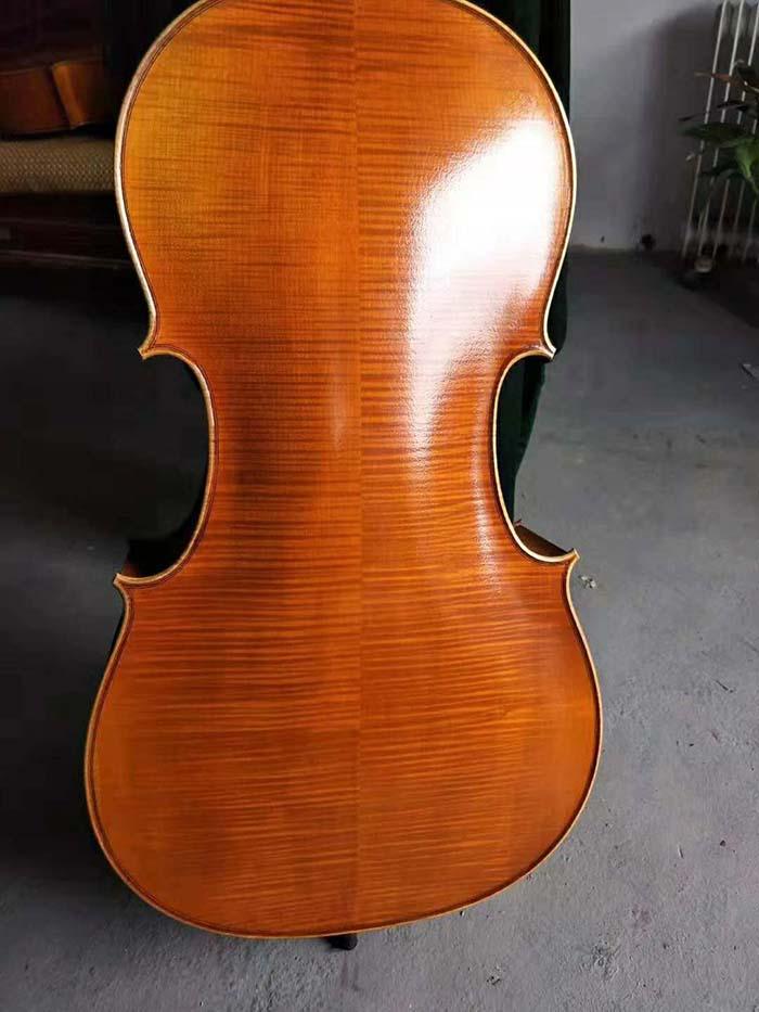 欧料大提琴背板