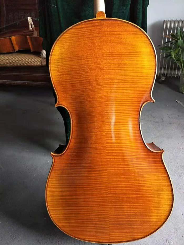 川料手工大提琴背板