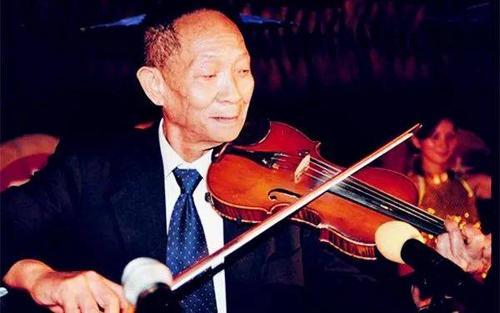 """""""杂交水稻之父""""袁隆平和他的小提琴"""