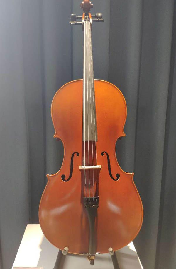 HY川料大提琴纯手工