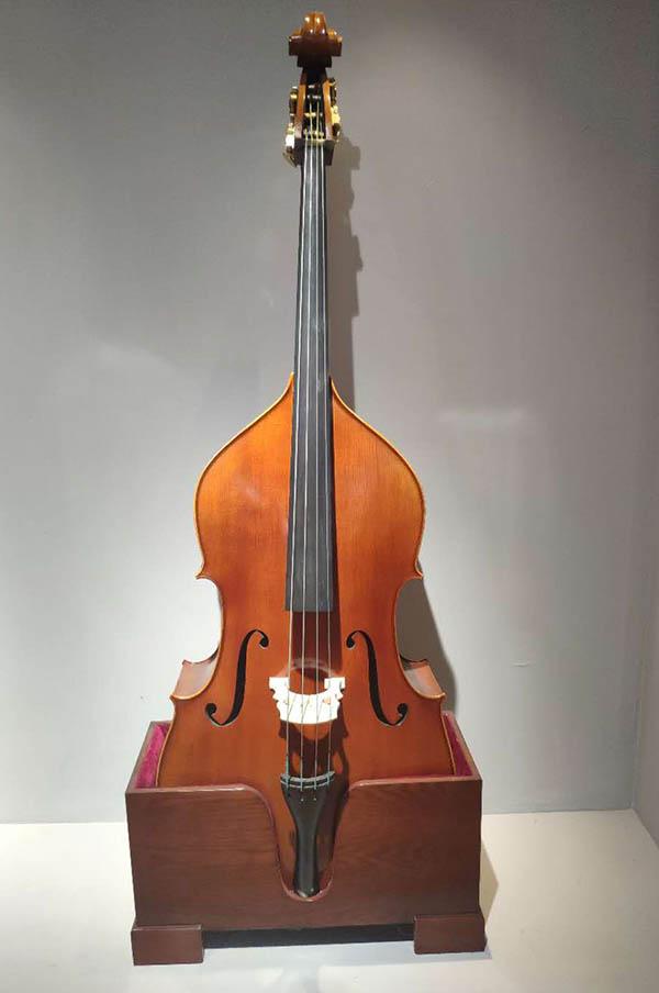 纯手工4/4低音提琴