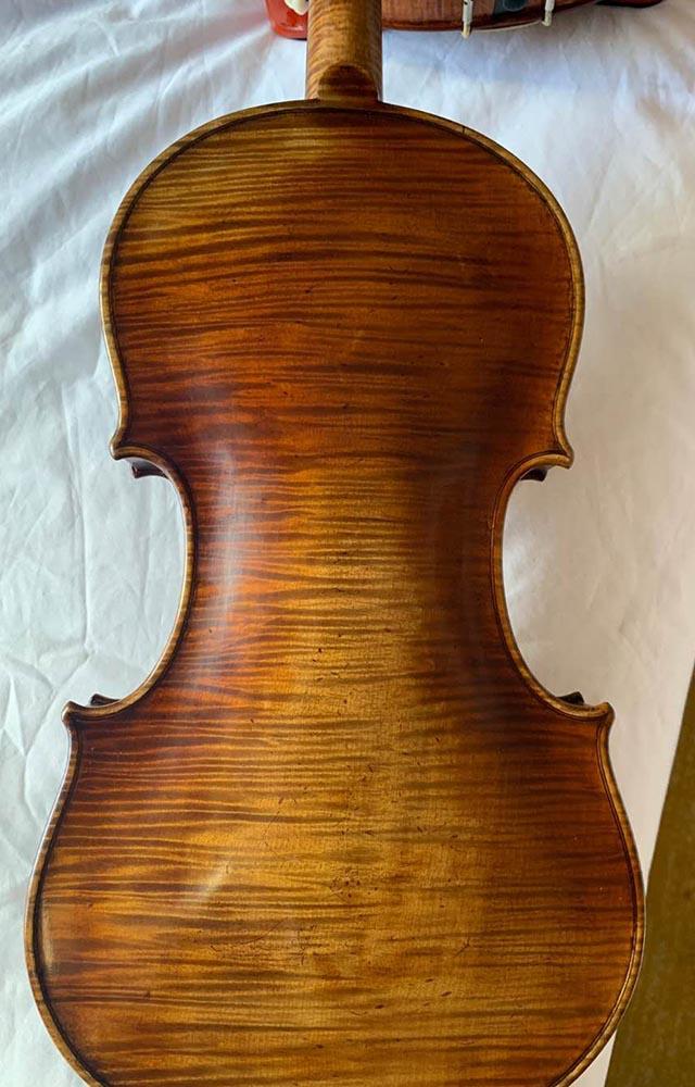 意大利虎皮纹小提琴
