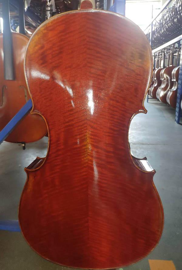 古典深红仿古大提琴