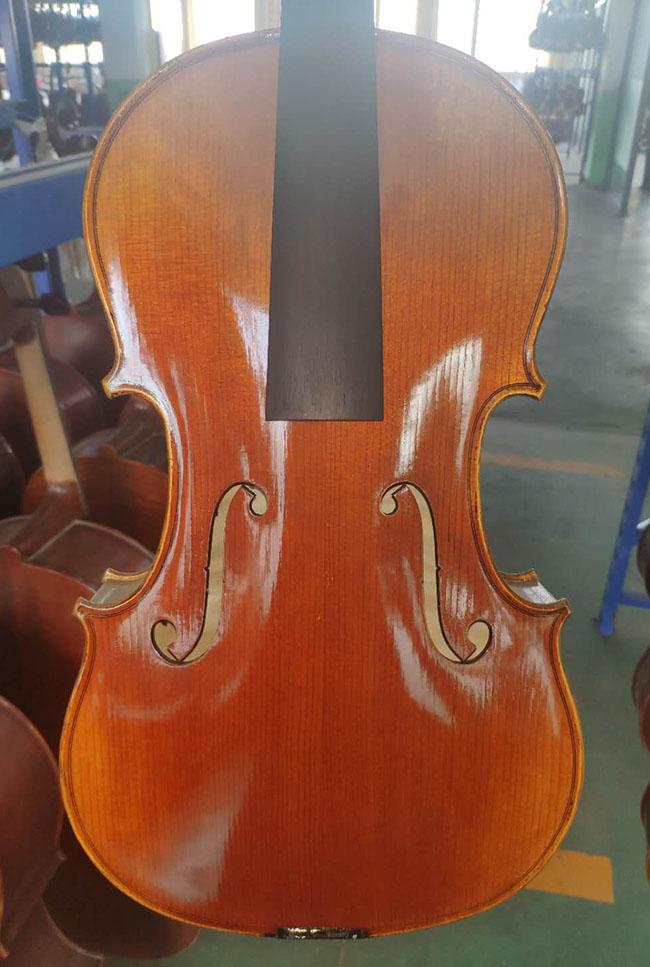 16寸中提琴大花纹