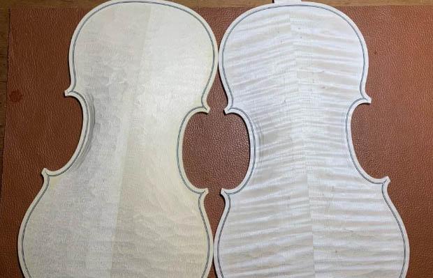 小提琴边缘镶线的作用