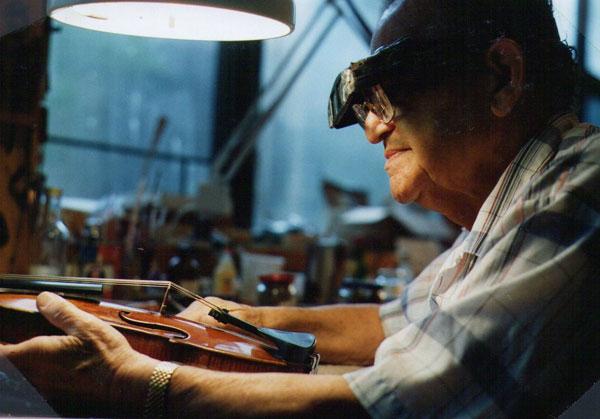 琴破情圆——我所修复的最艰难小提琴之一