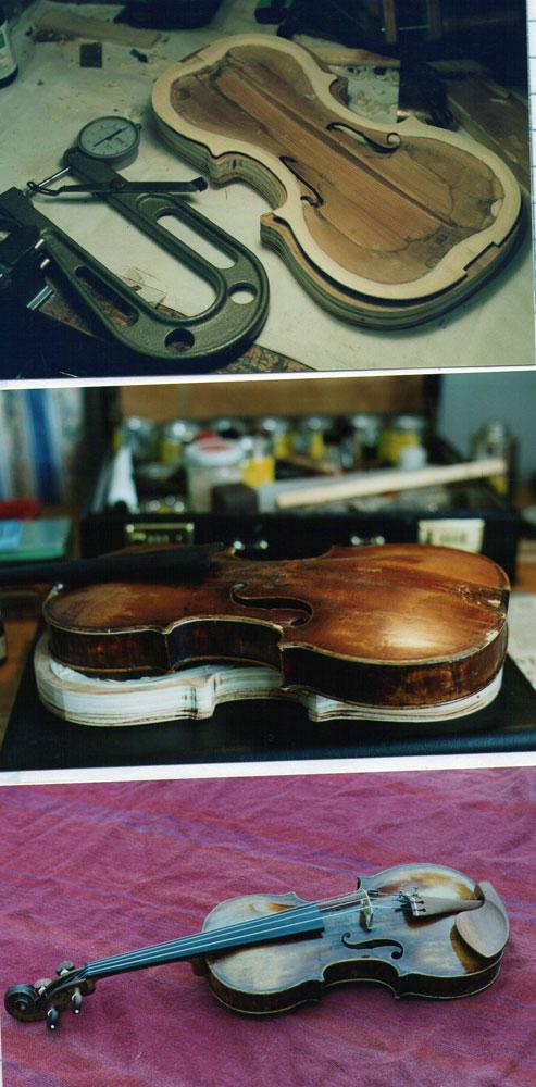 小提琴修复