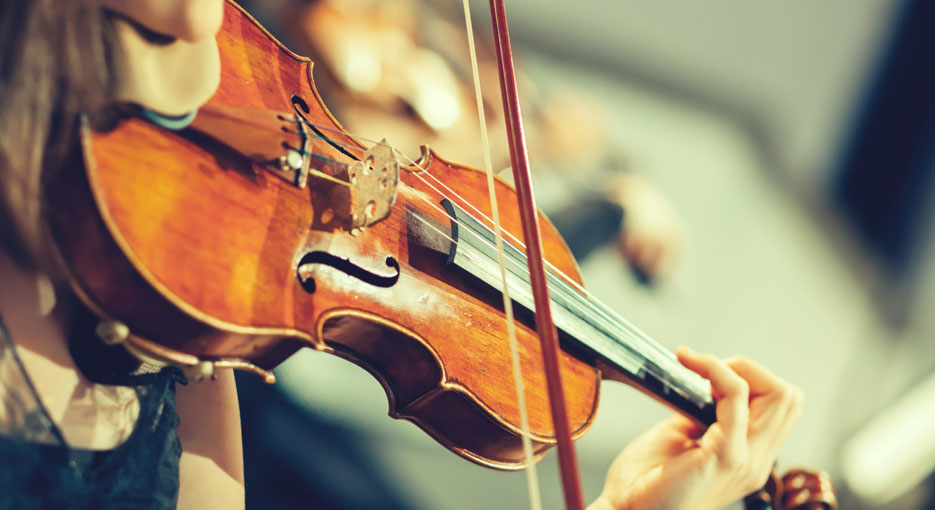 比当兵还难的小提琴?