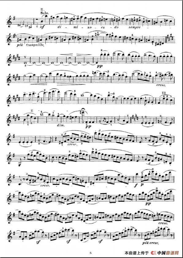 小提琴协奏曲