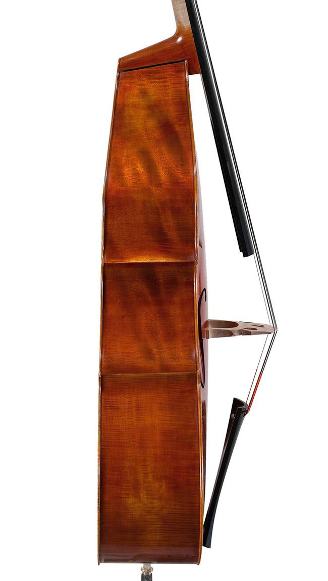 3/4古典尖角低音提琴