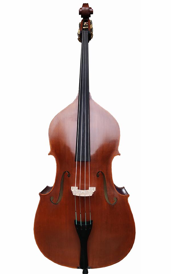 3/4尖角哑光低音提琴