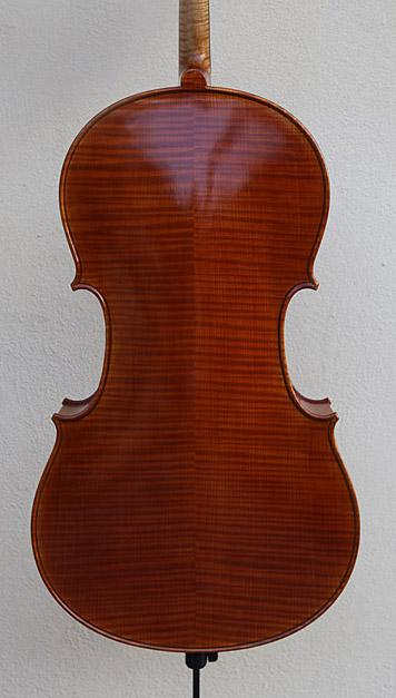 枣红色欧料大提琴