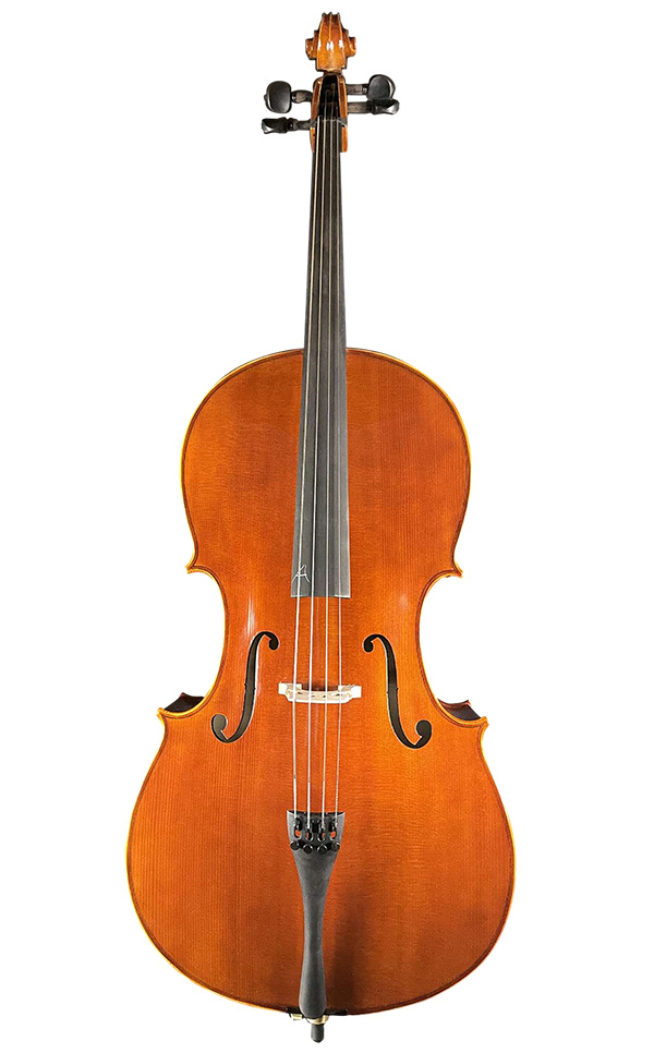 A级手工大提琴 色标油漆