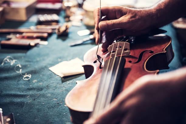 你的小提琴和弓都干了吗?