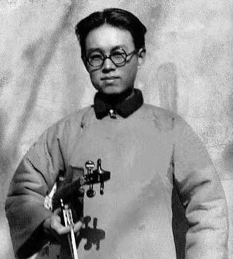 小提琴家谭抒真在北京大学音乐传习所