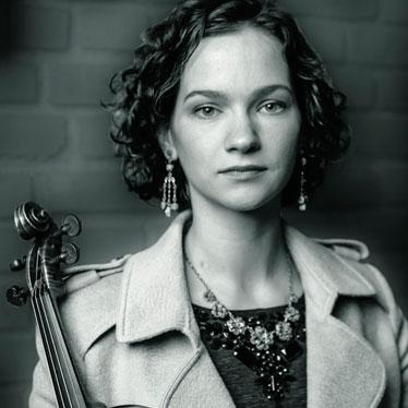 小提琴演奏家希拉里·哈恩,三届格莱美奖得主