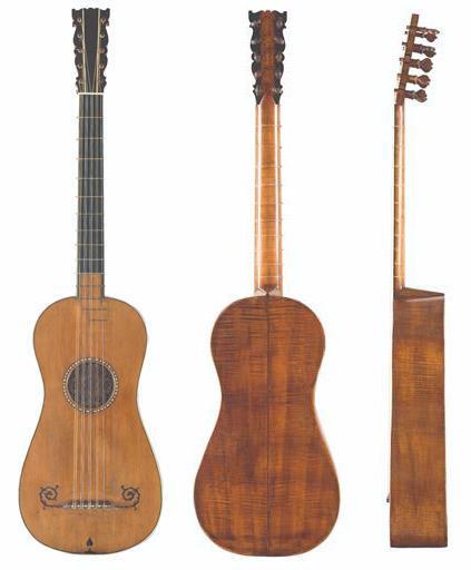 斯特拉迪瓦里制作的吉他 'Sabionari'