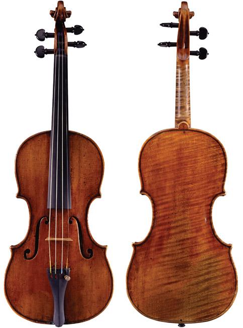 耶稣·瓜奈里1744 年 'de Bériot' 小提琴