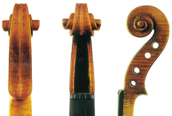 """斯特拉迪瓦里1728 年的""""Milanollo""""小提琴"""