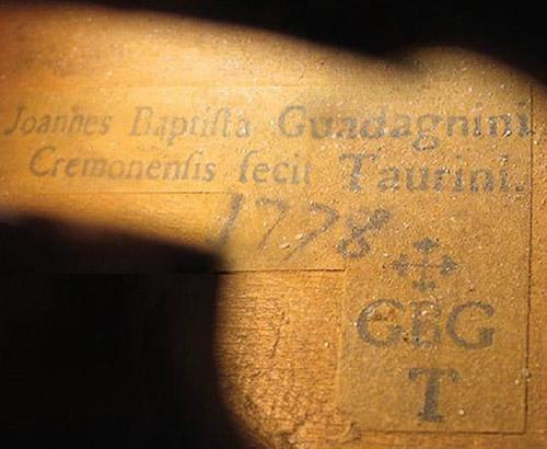 GB Guadagnini 1778 年小提琴