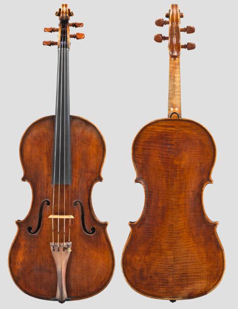 Francesco 和 Giovanni Grancino 中提琴 c.1665