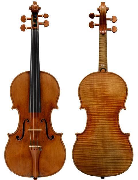 斯特拉迪瓦里1707 'Rivaz, Baron Gutmann' 小提琴