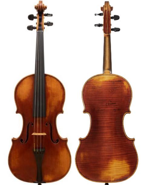 延斯·尼尔森·弗罗斯特 (Jens Nielsen Frost) 1945 年的小提琴