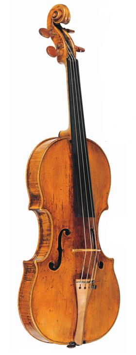 诸如c.1566'Charles IX'Andrea Amati之类的小提琴在几何上几乎与当今制造的相同     Palazzo COMUNALE,克雷莫纳,意大利的弦乐系列