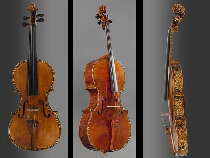 马德里王宫的斯特拉迪瓦里提琴