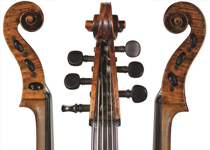 Girolamo Amati 的 Viola da gamba,1611 年