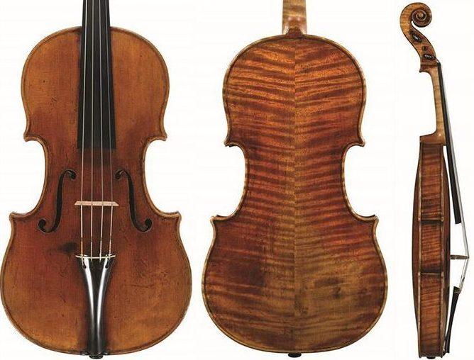 斯特拉迪瓦里中提琴1715