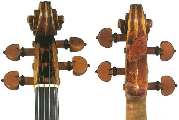 """""""Il Cannone""""小提琴琴头"""