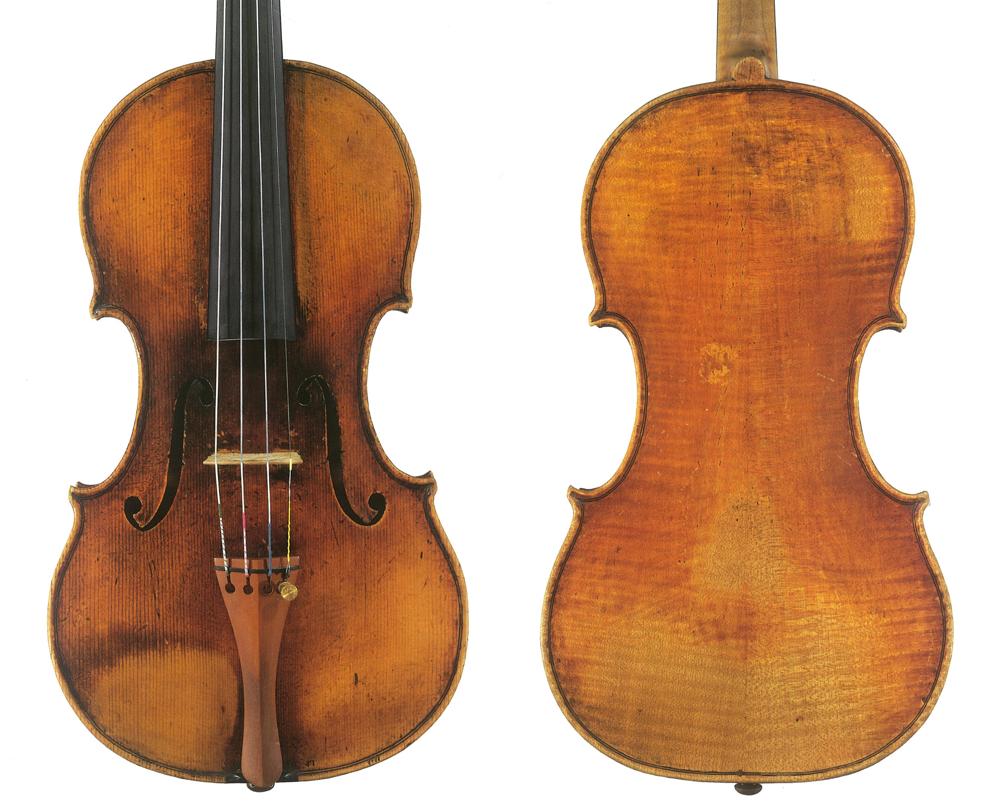 """帕格尼尼的""""大炮"""",瓜奈利 1743 """"Il Cannone""""小提琴"""