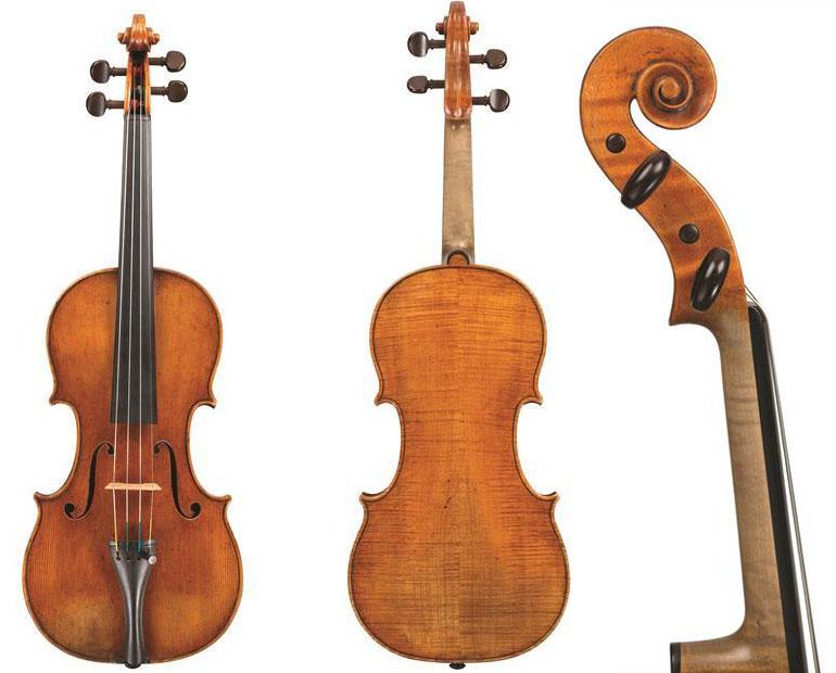 """斯特拉迪瓦里""""Sachs""""1666小提琴"""